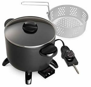 Compact and Reliable Cheap Deep Fryer