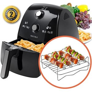 Secura 4-Liter XL Air Fryer Review