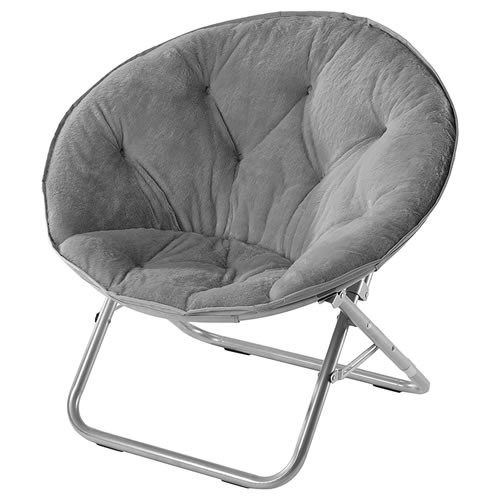 Urban Shop Faux Fur Saucer Chair Review