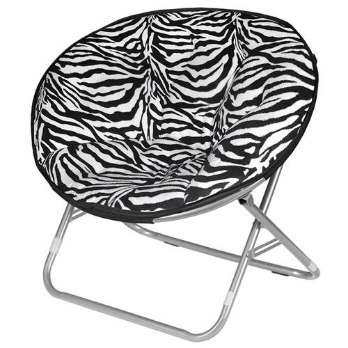 Urban Shop Zebra Faux Fur Saucer Chair Review