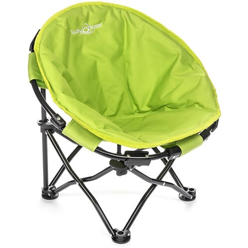 Lucky Bums: Durable Folding Saucer Chair For Adults, Teens And Kids