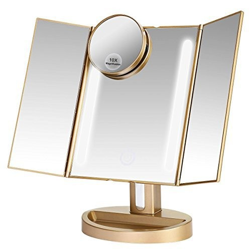 LEJU Led Lighted Makeup Mirror Review