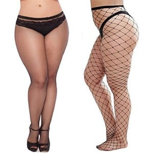 Black Fishnet Tights Plus Size Review