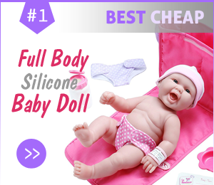 best cheap silicone babies