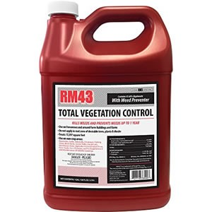 RM43 43-Percent Glyphosate Plus Weed Preventer Total Vegetation Control Review